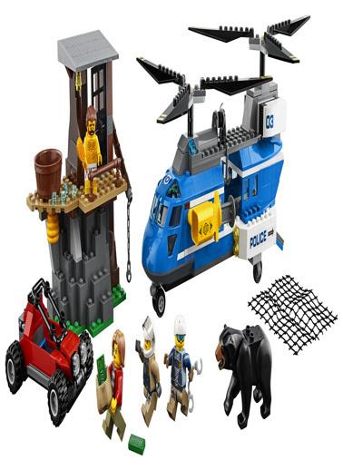 Lego LEGO City Police Mountain Arrest Renkli